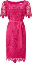 Jacques Vert Flower Lace Shift Dress
