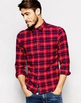 Replay Shirt Check Flannel 2 Pocket