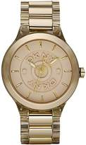 DKNY Plastic and Stainless Steel Champagne Dial Women's watch #NY8168