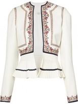 Talitha Final Sale 'kashmiri' Peplum Jacket