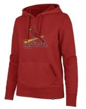 '47 St. Louis Cardinals Women's Headline Pullover Hoodie