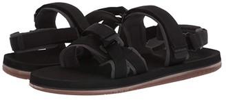 Quiksilver Caged Oasis II (Black/Grey/Brown) Men's Sandals