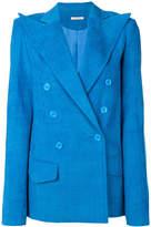 Nina Ricci oversized pointed lapel blazer