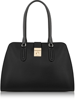 Furla Onyx Milano Medium Leather Tote Bag