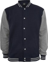 Urban Classics Urban Cassics Men's TB207 2-tone Coege Sweat Jacket