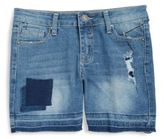 Vigoss Girls Distressed Bermuda Shorts