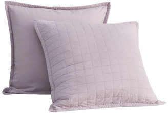 Sheridan Reilly European Quilt Cover in Fig Dusty Pink