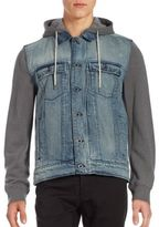 Calvin Klein Jeans Mixed Media Mariner Jacket
