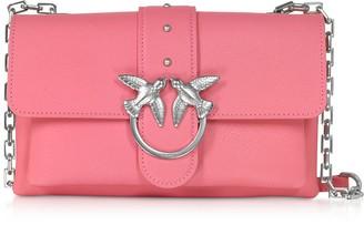 Pinko Pink Love Mini Soft Simply Shoulder Bag