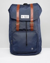 Original Penguin Twin Strap Pearl Backpack
