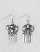 American Eagle AEO Etched Chandelier Earrings