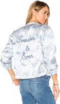 Paige Rosie HW x Flo Bomber Jacket