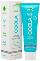 Coola Mineral Face Matte Finish, SPF 30, Cucumber, 1.7 oz