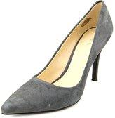 Nine West Flax Women US 7.5 Gray Heels