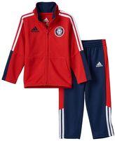 adidas Baby Boy Power Kick Jacket & Pants Set
