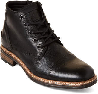 Bullboxer Black Regal Lace-Up Leather Boots