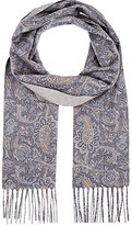 Colombo MEN'S PAISLEY CASHMERE SCARF