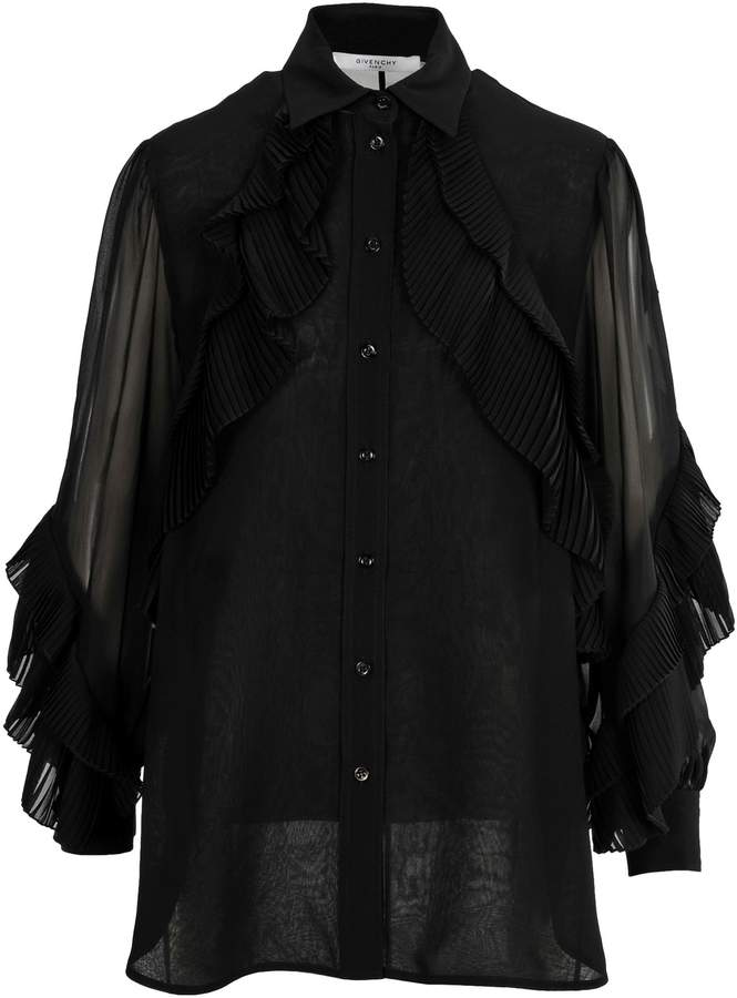Givenchy Ruffle Shirt