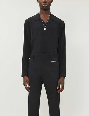 The Kooples Relaxed-fit silk shirt