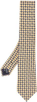 Giorgio Armani Geometric Print Tie