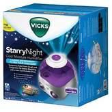 Vicks Starry Night Cool Moisture Humidifier, Model V3700, 1 gal - Purple by