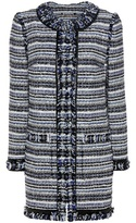 Tory Burch Laila Tweed Coat
