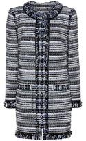 Tory Burch Laila tweed coat