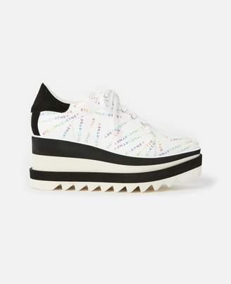 Stella McCartney Rainbow Elyse Monogram Shoes, Women's