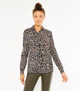 Thumbnail for your product : New Look Tall Leopard Print Shirt