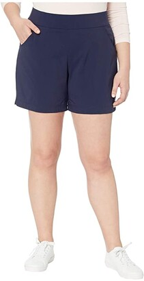 Columbia Plus Size Anytime Casualtm Shorts (Black) Women's Shorts