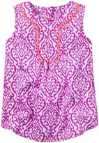 Carter's Woven Tunic (Baby) - Pink - 12 Months