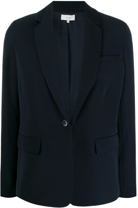 Vince Tailored Single-Button Blazer