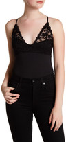 Anine Bing Lace Combo Bodysuit