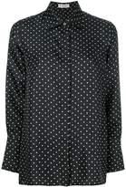 Alberto Biani polka dot print shirt