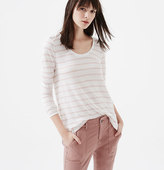 LOFT Lou & Grey Striped Softlayer Tee