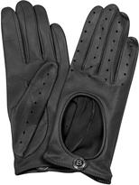Bentley Dents Pittards Cabretta Black Driving Ladies Gloves