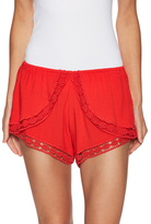 Winston White Hanalei Lace Trimmed Short