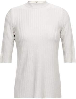 Casasola Rio Metallic Ribbed-knit Top