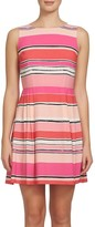 CeCe Women's Claiborne Stripe A-Line Dress