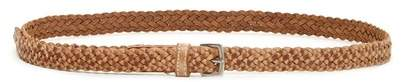 FASHION FOCUS ACCESSORIES Braided Leather Belt