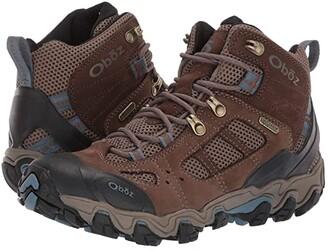 Oboz Bridger Vent Mid B-Dry (Brindle/Tradewinds Blue) Women's Shoes