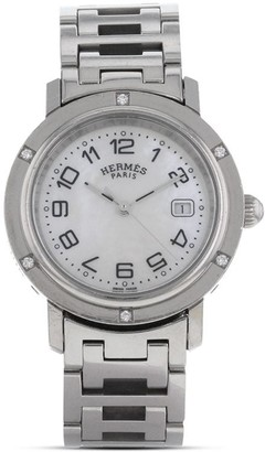 Hermes 2010 pre-owned Clipper watch