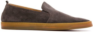 Henderson Baracco Round Toe Slip-On Loafers