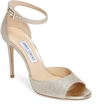 Jimmy Choo Annie 100 Ankle Strap Sandal