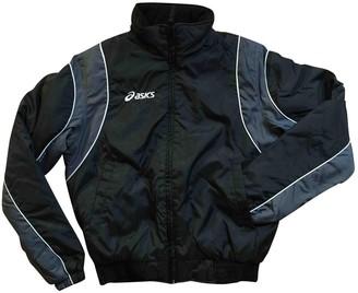 Asics Black Polyester Jackets