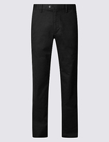 Blue Harbour Regular Fit Cotton Rich Chinos