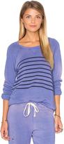 Sundry Raglan Striped Sweatshirt