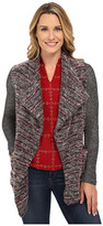 Lucky Brand Sweater Mixed Wrap