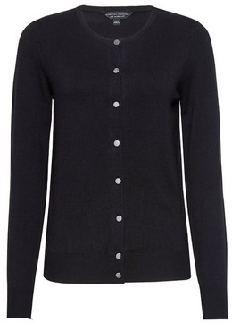 Dorothy Perkins Womens Black Core Cardigan, Black