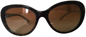 Tiffany & Co. Brown Plastic Sunglasses
